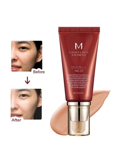 Missha M Perfect Cover Bb Cream No: 25 Bej